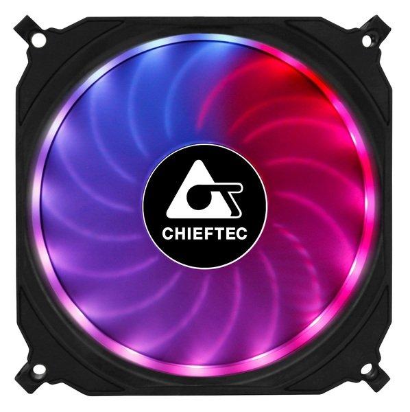 Купить Системы охлаждения, Вентилятор для корпуса CHIEFTEC TORNADO ARGB (CF-1225RGB)