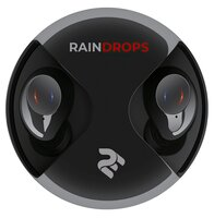 Наушники 2E RainDrops True Wireless Waterproof Black