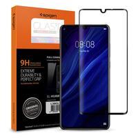 Стекло Spigen для Huawei P30 HD Black