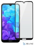 Стекло 2E для Huawei Y5 2019/Honor 8S 2.5D Black Border