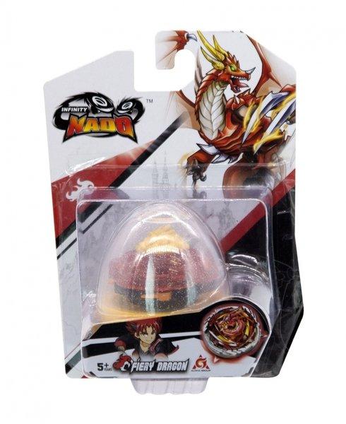 Купить Игровые наборы, Волчок Auldey Infinity Nado V серия Nado Egg Fiery Dragon Огненный Дракон (YW634102)