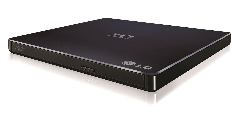 Оптичний привід Hitachi-LG Blu-ray Writer USB2.0 EXT Ret Ultra Slim Black (BP55EB40) фото