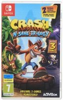 Игра Crash Bandicoot N'sane Trilogy (Nintendo Switch, Английский язык)