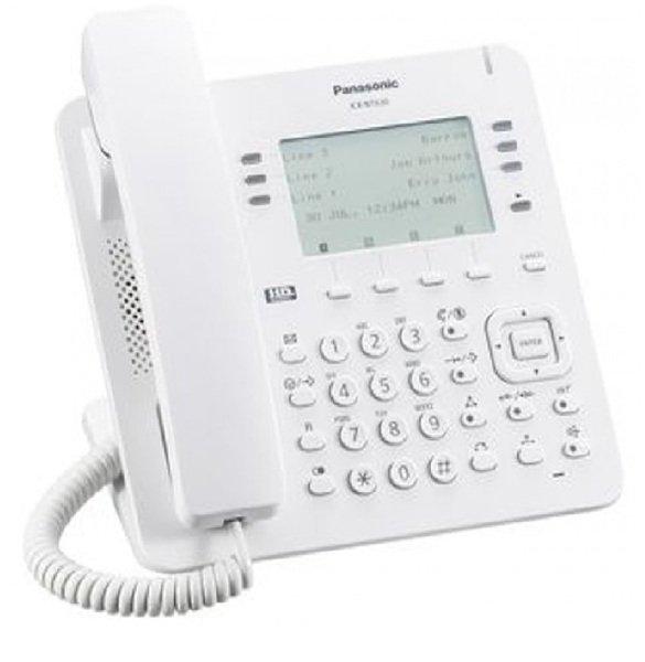 Купить Системные телефоны, IP-телефон Panasonic KX-NT630RU White для АТС Panasonic KX-NS/NSX