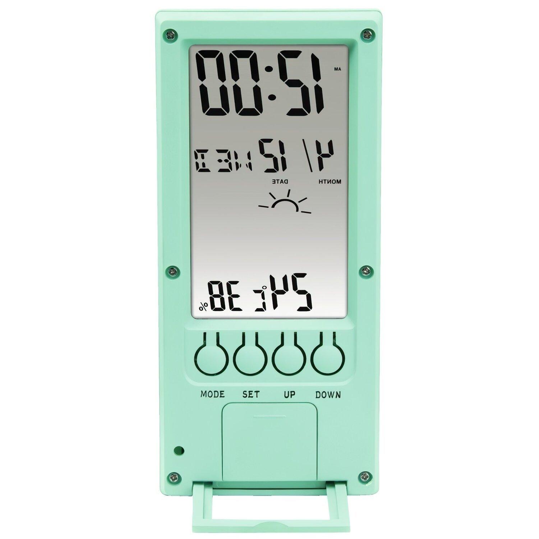 Термометр/гігрометр HAMA TH-140 з індикатором погоди mint фото