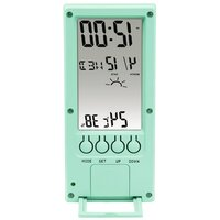 Термометр/гігрометр HAMA TH-140 з індикатором погоди mint