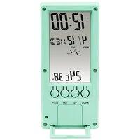 Термометр/гигрометр HAMA TH-140 с индикатором погоды mint
