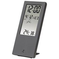 Термометр/гігрометр HAMA TH-140 з індикатором погоди gray