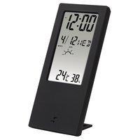 Термометр/гигрометр HAMA TH-140 с индикатором погоды black