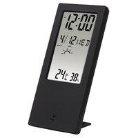 Термометр/гігрометр HAMA TH-140 з індикатором погоди black