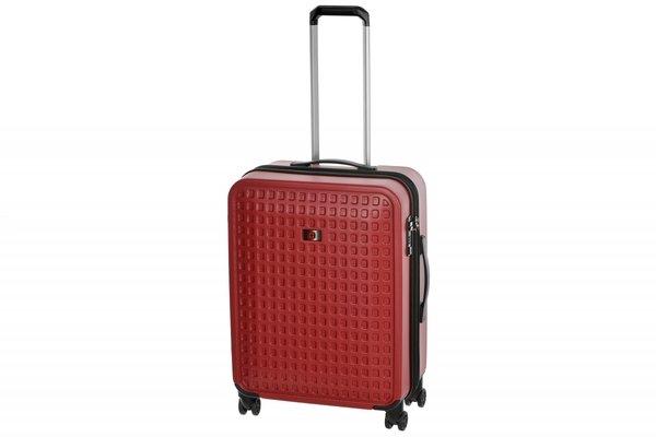 Купить Дорожные сумки и чемоданы, Чемодан пластиковый Wenger Matrix 24 , средний, 4 колеса, красный (604356)