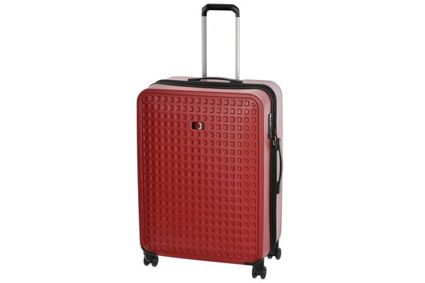 Купить Дорожные сумки и чемоданы, Чемодан пластиковый Wenger Matrix 28 , большой, 4 колеса, красный (604359)