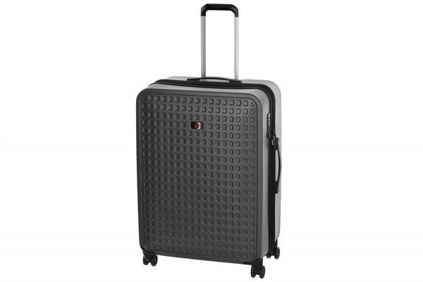 Дорожные сумки и чемоданы, Чемодан пластиковый Wenger Matrix 28 , большой, 4 колеса, серый (604360)  - купить со скидкой