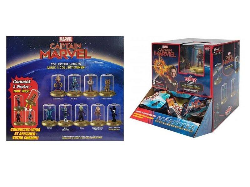 Колекційна фігурка Jazwares Domez Collectible Figure Pack Marvel's Captain Marvel , S1 (DMZ0147) фото
