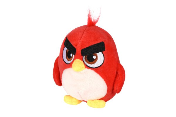 angry birds Мягкая игрушка Jazwares Angry Birds ANB Little Plush Ред (ANB0025)