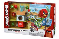 Игровая фигурка Jazwares Angry Birds ANB Medium Playset (Pig City Build 'n Launch Playset) (ANB0015)