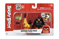 Игровая фигурка Jazwares Angry Birds ANB Mission Flock Бомб и Чак (ANB0008)