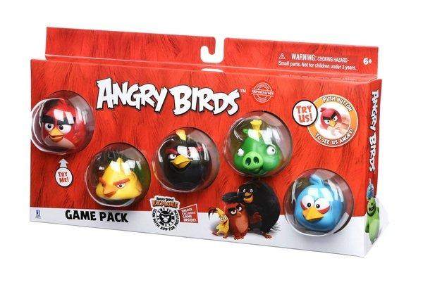 angry birds Игровая фигурка Jazwares Angry Birds Game Pack (Core Characters) (ANB0121)