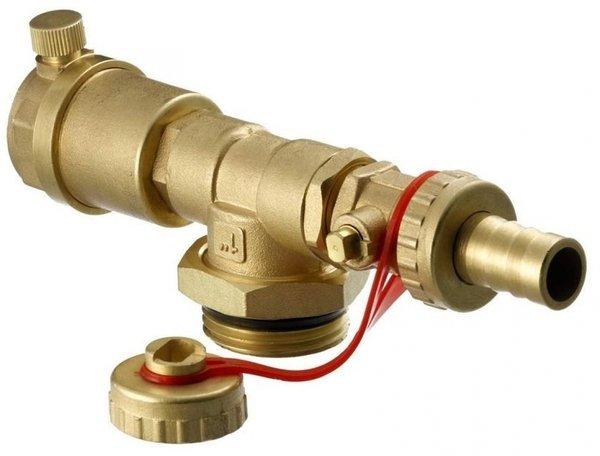 danfoss Торцевая секция Danfoss FHF-EM с ручным отводом воздуха (088U0786)
