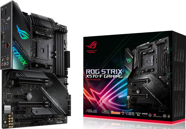 Материнcька плата ASUS ROG STRIX X570-F GAMING фото