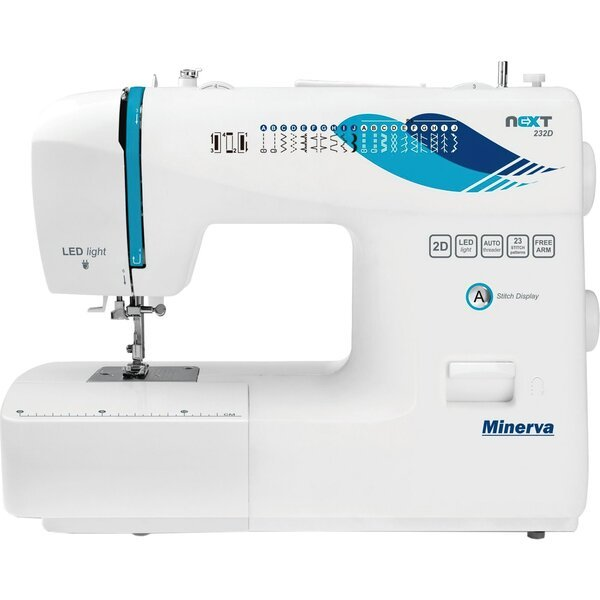Купить Швейные машинки, Швейная машина МINERVA NEXT 232D, MINERVA