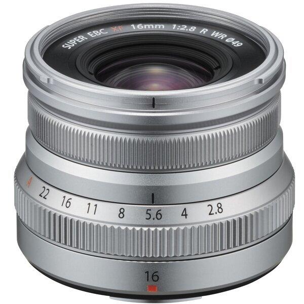 Купить Объективы, Объектив Fujifilm XF 16mm F2.8 R WR Silver (16611693)