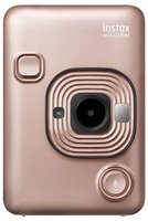 Фотокамера миттєвого друку Fujifilm INSTAX Mini LiPlay Blush Gold (16631849)