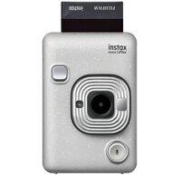 Фотокамера миттєвого друку Fujifilm INSTAX Mini LiPlay Stone White (16631758)