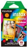 Фотобумага Fujifilm COLORFILM INSTAX MINI RAINBOW (54х86мм 10шт)