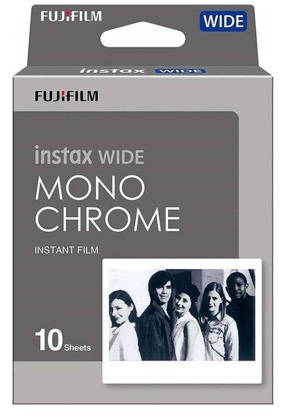 Купить Аксессуары для моментального фото, Фотобумага Fujifilm INSTAX WIDE MONOCHROME (108х86мм 10шт)