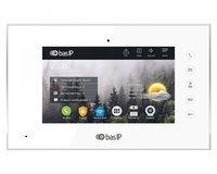IP видеодомофон BasIP AQ-07 v4 White