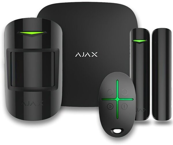 ajax Комплект охранной сигнализации Ajax StarterKit Plus, black 000012254