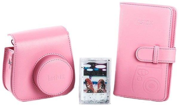 Купить Аксессуары для моментального фото, Набор аксессуаров Fujifilm INSTAX ACCESSORY BUNDLE Flamingo Pink (70100138066)