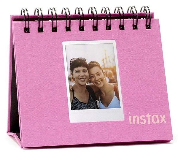 Купить Аксессуары для моментального фото, Фотоальбом Fujifilm INSTAX MINI 9 TWIN FLIP ALBUM Flamingo Pink (70100139061)
