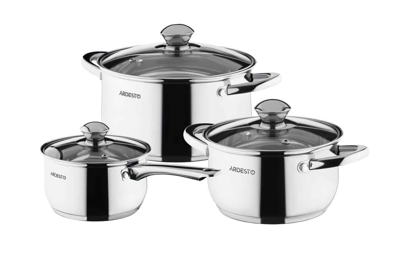 Набір посуду Ardesto Gemini Gourmet 6 предметів (AR1906PS)фото