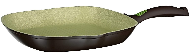 Сковорода гриль Ardesto Avocado алюминий, зеленый 28 сантиметров (AR2528GA) фото 1
