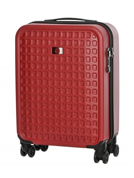 Купить Дорожные сумки и чемоданы, Чемодан пластиковый Wenger Matrix 20 малый, красный (604353)
