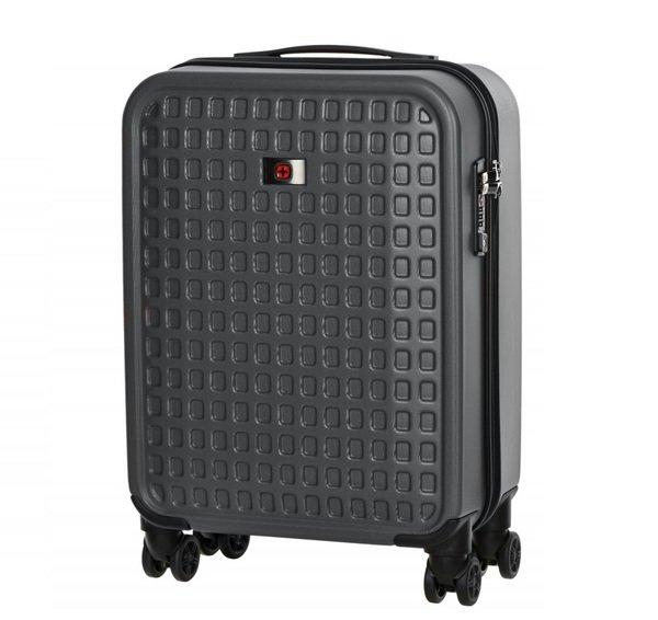 Дорожные сумки и чемоданы, Чемодан пластиковый Wenger Matrix 20 малый, серый (604354)  - купить со скидкой