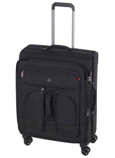 Купить Дорожные сумки и чемоданы, ЧемодантекстильныйWengerDeputy24 средний, чёрный(604372)