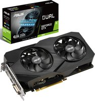 Відеокарта ASUS GeForce GTX1660 6GB GDDR5 DUAL EVO (DUAL-GTX1660-6G-EVO)
