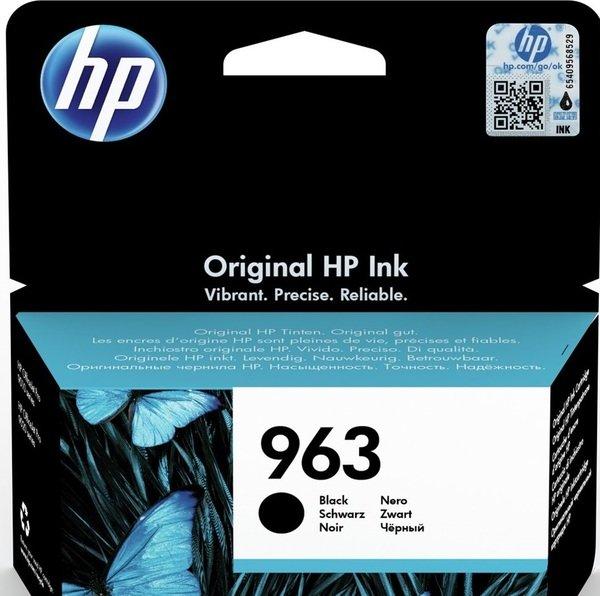 Картридж струйный HP 963 Black Original Ink Cartridge (3JA26AE)