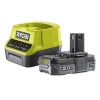 Аккумулятор и зарядное устройство Ryobi ONE+ RC18120-120, 2 Ач, 18В