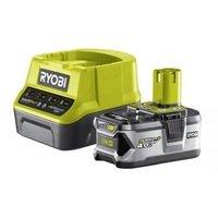 Аккумулятор и зарядное устройство Ryobi ONE+ RC18120-140, 4 Ач, 18В