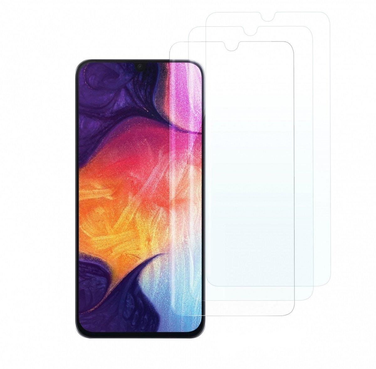 Комплект защитных стёкол 2E для Galaxy A30 (A305)/A50 (A505) 2.5D Clear фото 1