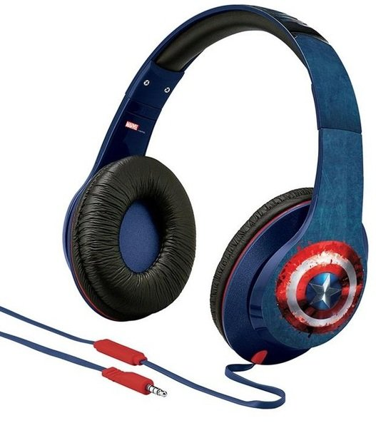 Купить Наушники eKids/iHome MARVEL Avengers Civil War Captain America Mic