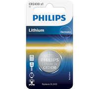 Батарейка Philips Lithium CR 2430 BLI 1 (CR2430/00B)