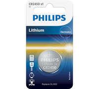 Батарейка Philips Lithium CR 2450 BLI 1 (CR2450/10B)