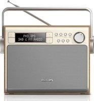 Портативный радиоприемник Philips AE5020 Silver/Wood