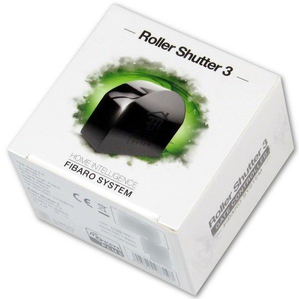 Купить Умный дом, Умное реле Fibaro Roller Shutter 3 Z-Wave 230V черный (FGR-223)