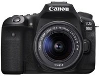 Фотоаппарат CANON EOS 90D + 18-55 IS STM (3616C030)